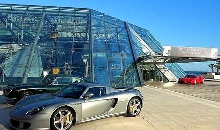 Porsche Carrera GT & Aston Martin DB6 & Ferrari Enzo