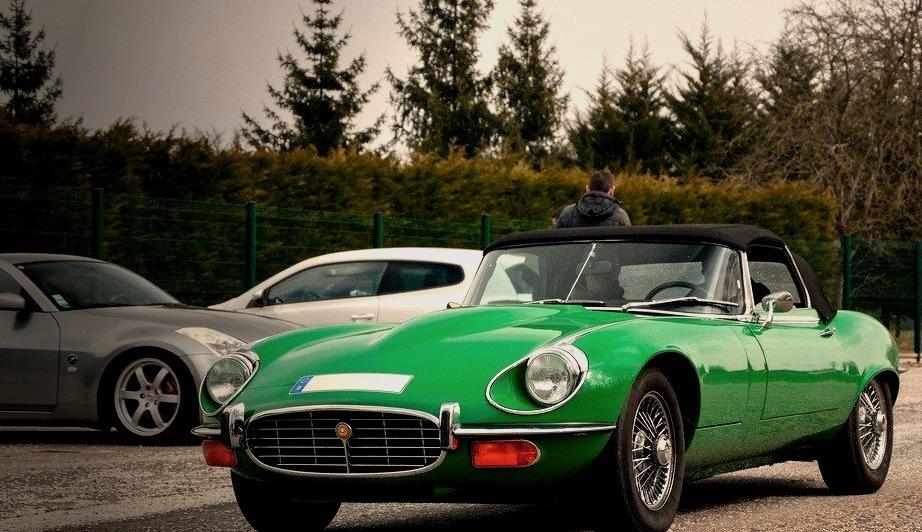 Jaguar Type E V12 Cabriolet
