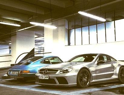 Mercedes-Benz SL65 (R230) & Porsche 911 (964)